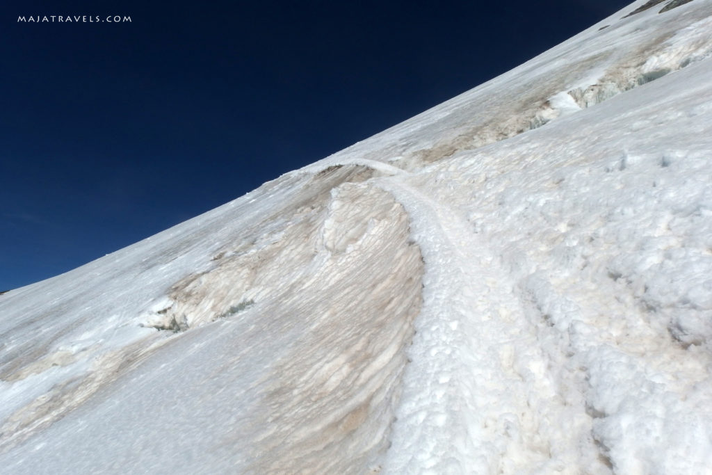 hiking breithorn