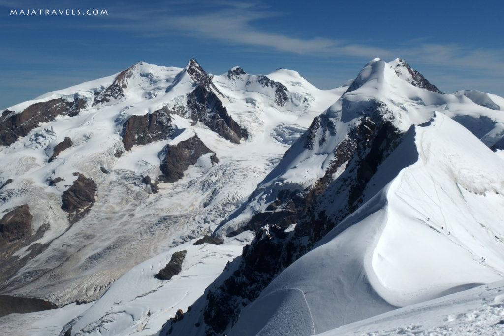 the views from breithorn