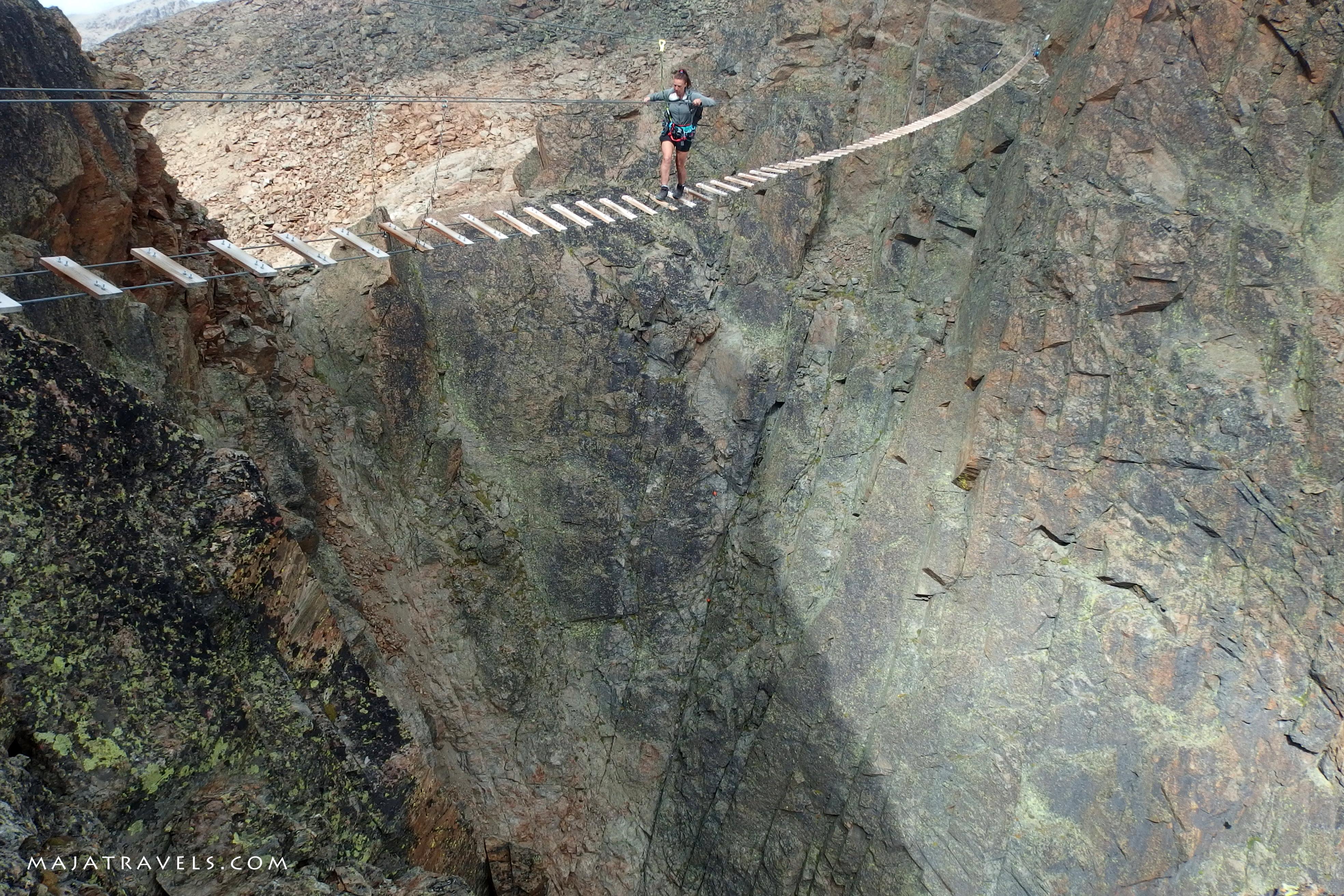 Klettersteig Jegihorn : Jägihorn u2013 via ferrata with the coolest bridge switzerland