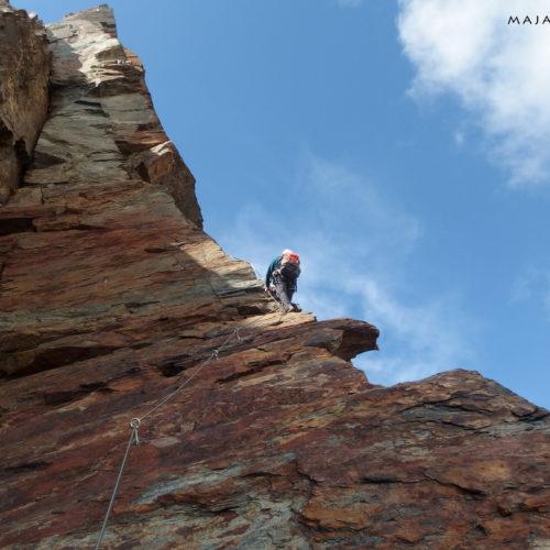 klettersteig jegihorn, switzerland
