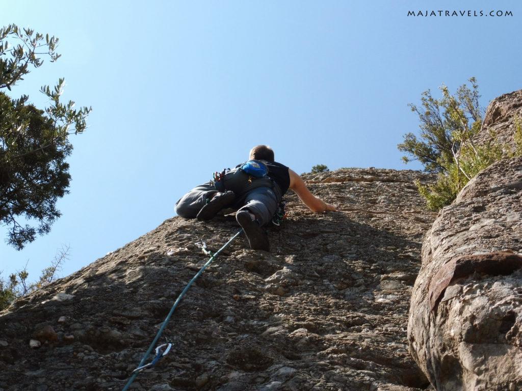 climbing in montserrat, can jorba