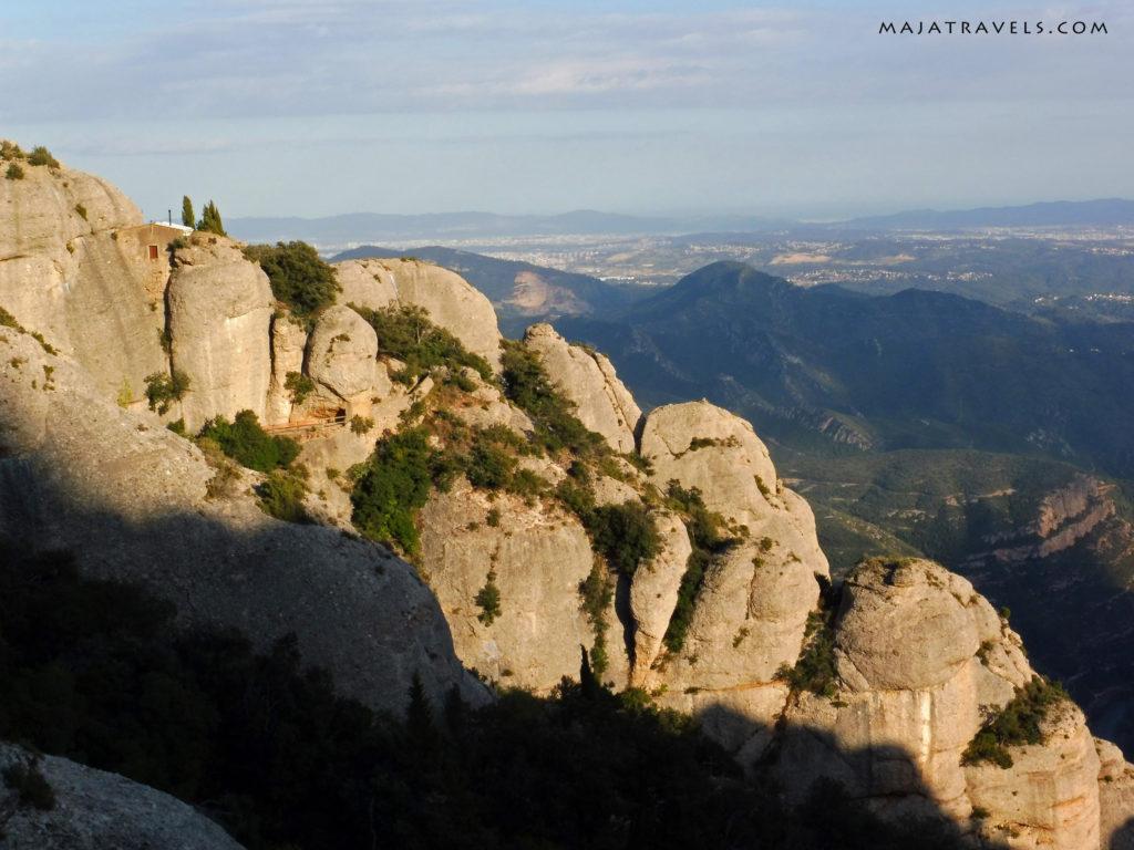 montserrat, mountain landscapes