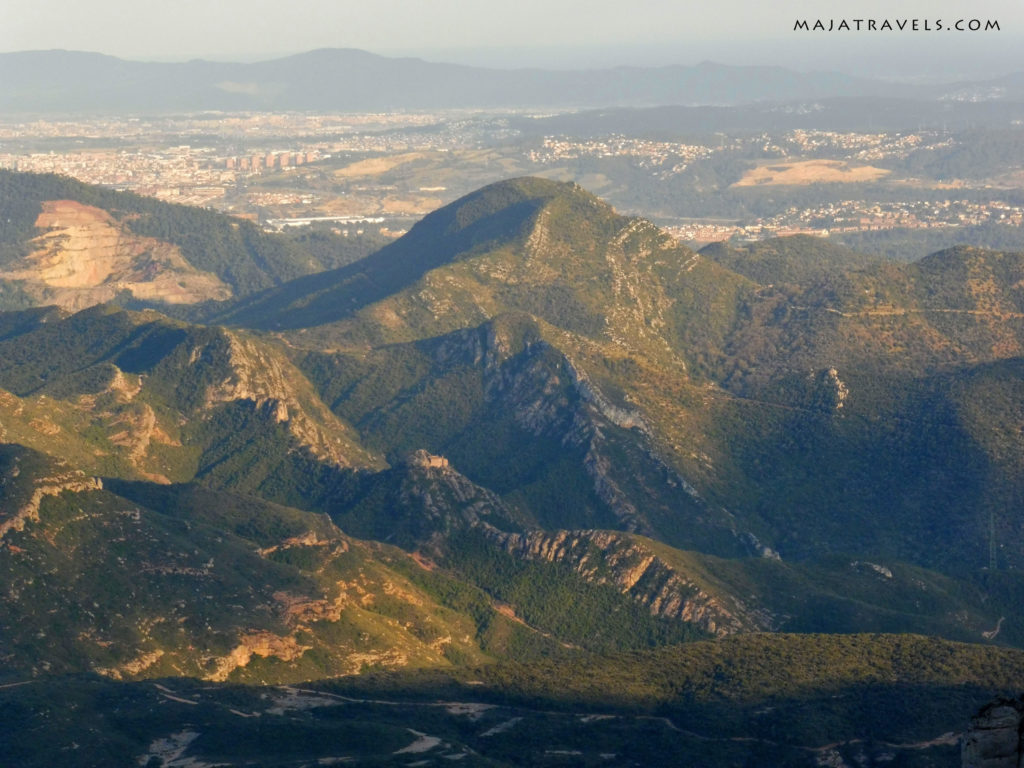 montserrat, górskie widoki
