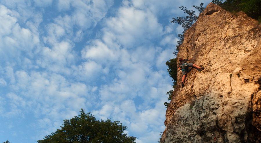 climbing jura, poland