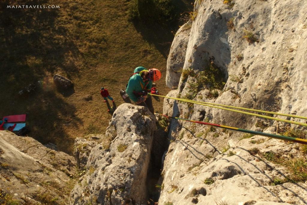 rock climbing in poland, jura, olsztyn