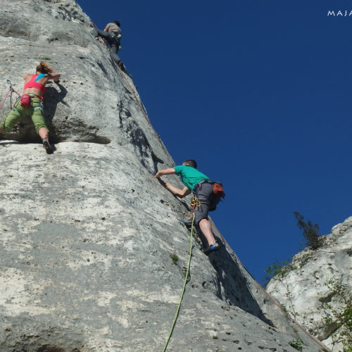 rock climbing in poland, jura, góra zborów