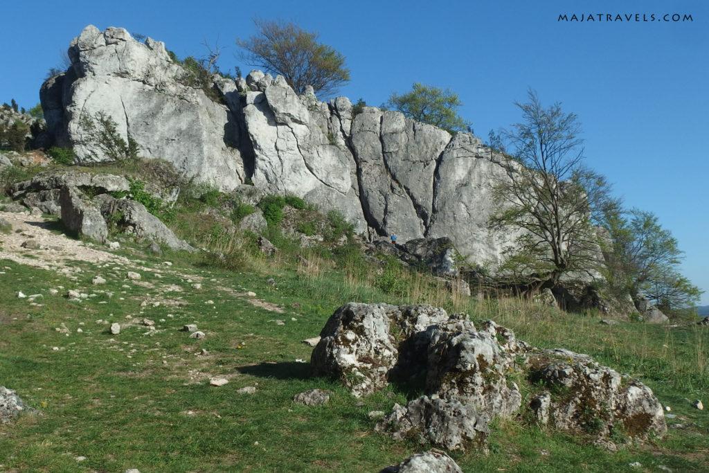 rock climbing in poland, góra zborów