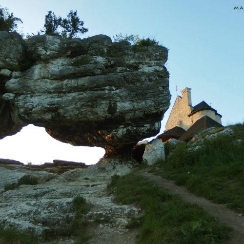 rock climbing in poland, jura, castle bobolice