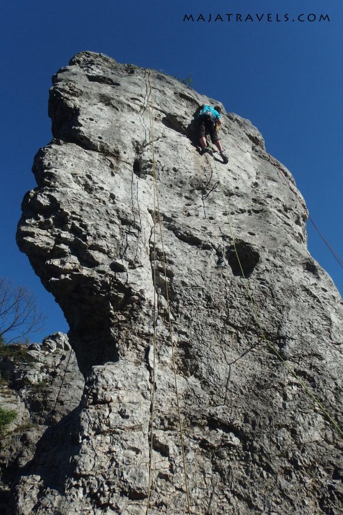 rock climbing in poland, jura