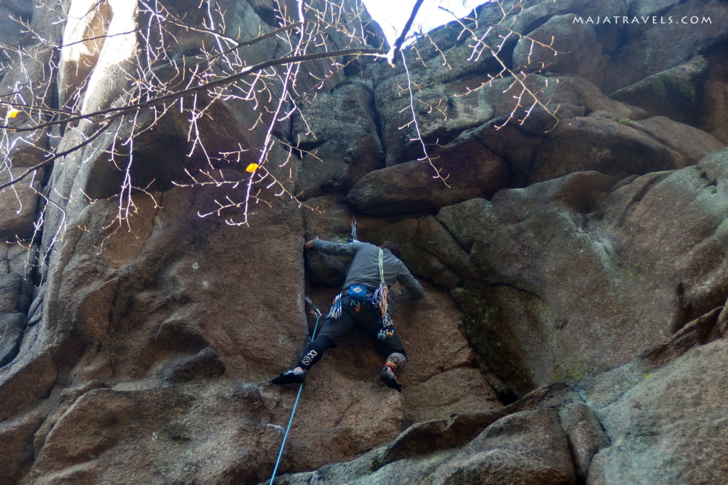 rock climbing in poland, sokoliki