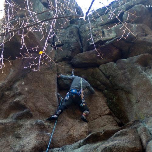 Rock climbing in Rudawy: Ścianki