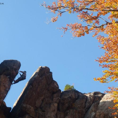 Rock climbing in Sokoliki: Sukiennice
