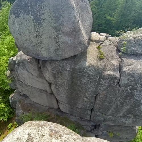 Rock climbing in Rudawy: Decjusz