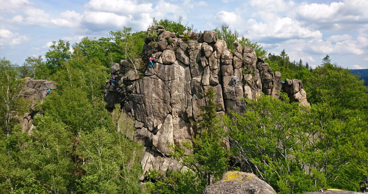 rock climbing in sokoliki