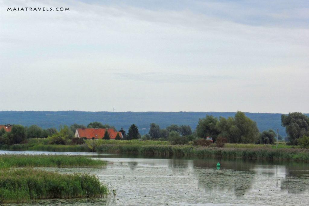 rzeka na trasie zielona 7