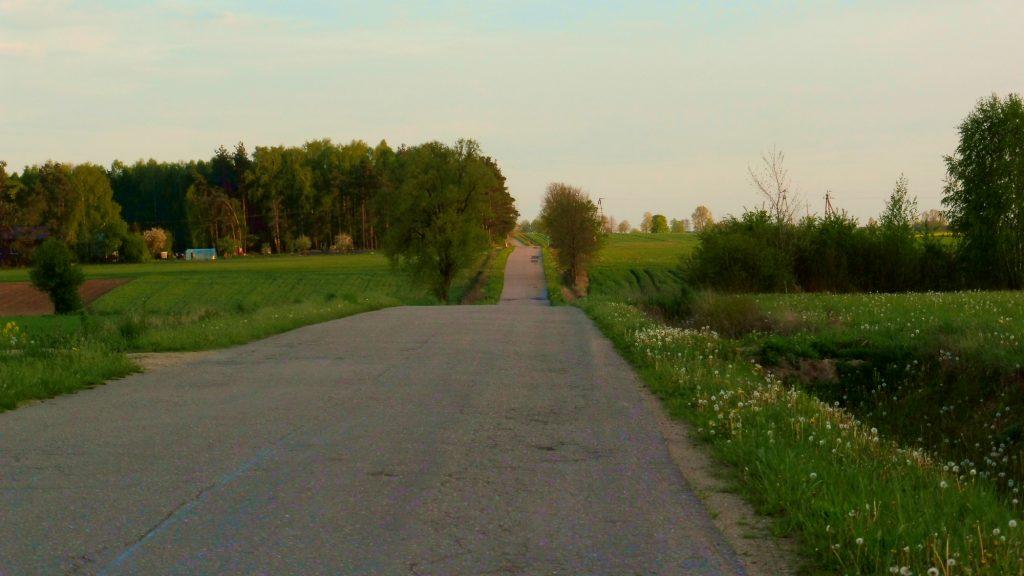 nadbużański szlak rowerowy, okolice gródka