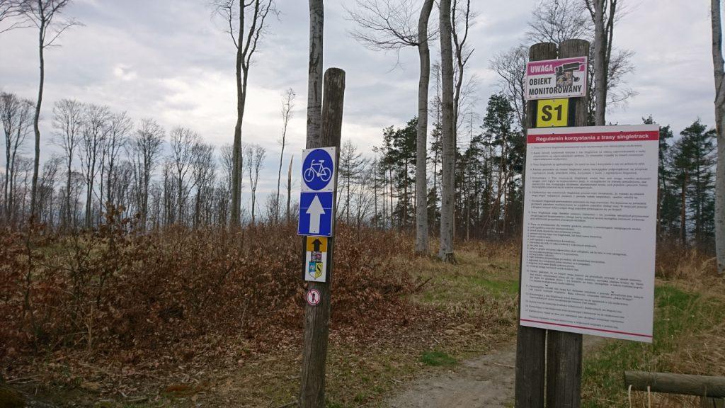 strzelin hills, singletracks