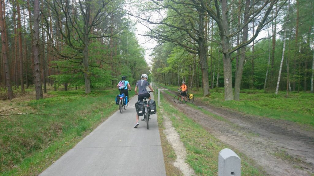 barycz valley by bicycle