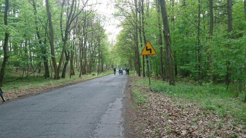asphalt road close to sieraków
