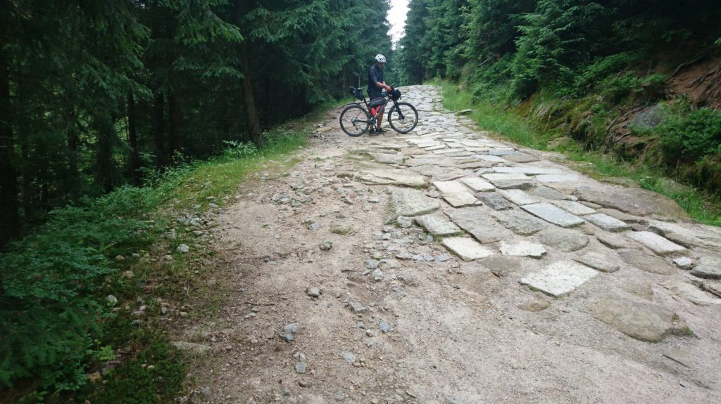 izera mountains by bicycle
